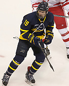Michael Babcock (Merrimack - 19) - The visiting Merrimack College Warriors defeated the Boston University Terriers 4-1 to complete a regular season sweep on Friday, January 27, 2017, at Agganis Arena in Boston, Massachusetts.The visiting Merrimack College Warriors defeated the Boston University Terriers 4-1 to complete a regular season sweep on Friday, January 27, 2017, at Agganis Arena in Boston, Massachusetts.
