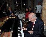 FEDELE CONFALONIERI AL PIANOFORTE<br /> PREMIO GUIDO CARLI - QUINTA EDIZIONE<br /> PALAZZO DI MONTECITORIO - SALA DELLA REGINA<br /> CON RICEVIMENTO A PALAZZO COLONNA ROMA 2014