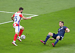 23.06.2021 Croatia v Scotland follow ups: Josko Gvardiol goes past Stephen O'Donnell