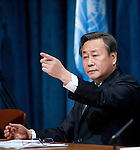 H.E. Mr. Kim Sook Press Conference at UN