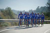 Team Wanty - Groupe Gobert 2015 training camp