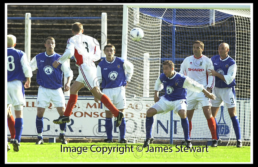 14/9/02       Copyright Pic : James Stewart                     .File Name : stewart-qots v inverness 09.DENNIS WYNESS HEADS HOME CALEY'S SECOND GOAL....James Stewart Photo Agency, 19 Carronlea Drive, Falkirk. FK2 8DN      Vat Reg No. 607 6932 25.Office : +44 (0)1324 570906     .Mobile : + 44 (0)7721 416997.Fax     :  +44 (0)1324 570906.E-mail : jim@jspa.co.uk.If you require further information then contact Jim Stewart on any of the numbers above.........