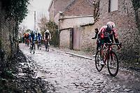Rémy Mertz (BEL/Lotto-Soudal)<br /> <br /> 51th Le Samyn 2019 <br /> Quaregnon to Dour (BEL): 200km<br /> <br /> ©kramon