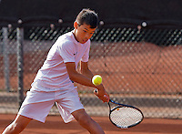 Netherlands, Rotterdam August 05, 2015, Tennis,  National Junior Championships, NJK, TV Victoria, Christopher Lam<br /> Photo: Tennisimages/Henk Koster