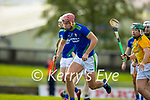 Fionan Mackessy, Kerry, in action against Padraic O'Hanrahan, Meath during the Round 1 meeting of Kerry and Meath in the Joe McDonagh Cup at Austin Stack Park in Tralee on Sunday.