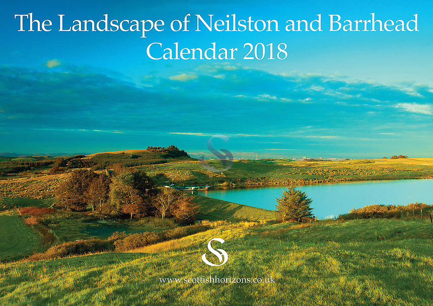 SOLD OUT £6.00 (incl. P+P). The Neilston & Barrhead Calendar is now into its 6th year of production. It is delivered A4 in size but opens out to A3 meaning the 12 images of the landscape can be viewed in all their stunning detail while the date pads provide loads of space to write. As always the calendar comes with its own envelope if you are wanting to send it to family or a friend. The price of the calendar is £6.00 which includes P+P within the UK. Please contact me if order is outwith the UK.
