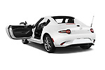 Car images close up view of a 2019 Mazda MX-5 RF Club 2 Door Convertible doors