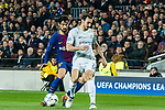 Andre Filipe Tavares Gomes (L) of FC Barcelona fights for the ball with Davide Zappacosta of Chelsea FC during the UEFA Champions League 2017-18 Round of 16 (2nd leg) match between FC Barcelona and Chelsea FC at Camp Nou on 14 March 2018 in Barcelona, Spain. Photo by Vicens Gimenez / Power Sport Images