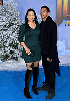 "LOS ANGELES, USA. December 10, 2019: Jordin Sparks & Dana Isaiah at the world premiere of ""Jumanji: The Next Level"" at the TCL Chinese Theatre.<br /> Picture: Paul Smith/Featureflash"