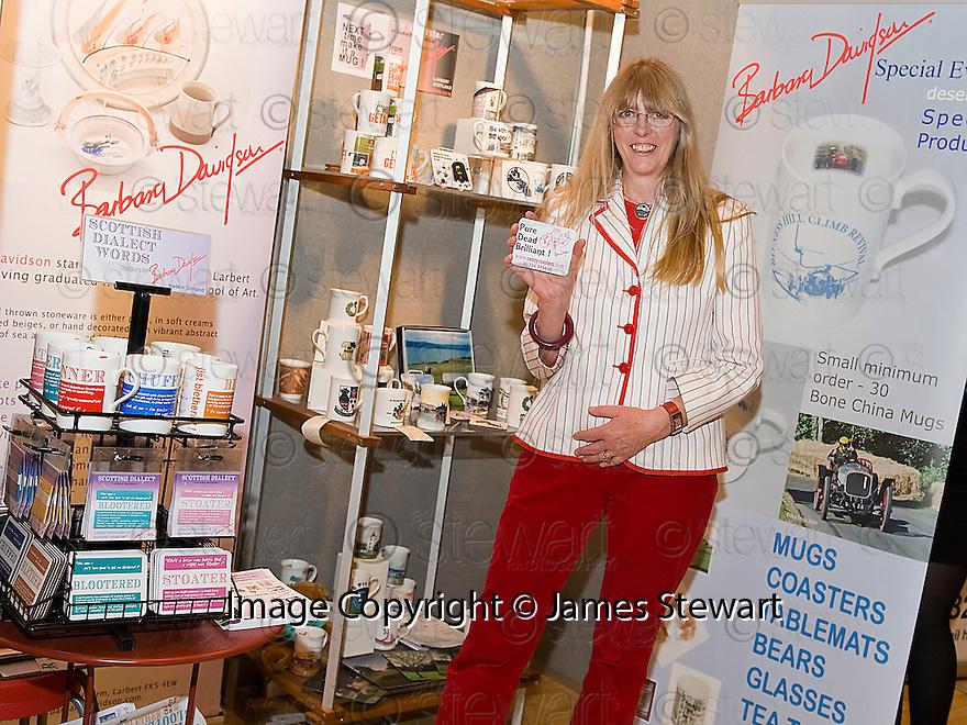 Falkirk Business Exhibition 2011<br /> Barbara Davidson Pottery.