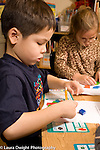 Elementary School Grade 1 math activity with pattern blocks