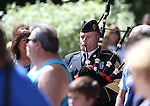 Sgt. 1st Class Michael Connell plays the Army Song at the 2016 Flag Day & Army Birthday ceremony at the Capitol in Carson City, Nev., on Tuesday, June 14, 2016.<br />Photo by Cathleen Allison