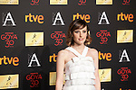 Actress Natalia de Molina attends the 2016 Goya Nominee party in Madrid, Spain. January 26, 2015. (ALTERPHOTOS/Victor Blanco)