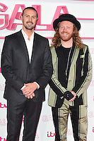Paddy McGuinness and Leigh Francis<br /> at the 2016 ITV Gala, London Palladium Theatre, London.<br /> <br /> <br /> ©Ash Knotek  D3204  24/11/2016