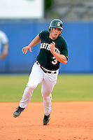 Dartmouth Big Green infielder Joe Purritano (3) during a game against the University of Alabama at Birmingham Blazers at Chain of Lakes Stadium on March 17, 2013 in Winter Haven, Florida.  Dartmouth defeated UAB 4-0.  (Mike Janes/Four Seam Images)