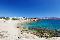 Mikro Alyko Beach of Alyko Peninsula in Naxos island, Greece