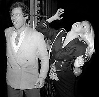 Alan Hamel Suzanne Somers at Studio 54 1978<br /> Photo By Adam Scull/PHOTOlink.net