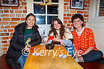 Enjoying the evening in Sean Og's on Friday, l to r: Deirdre McCarthy (Tralee), Aideen Lewis and Lydia Furey.