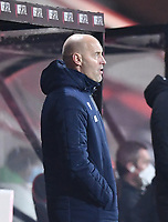 12th January 2021; Vitality Stadium, Bournemouth, Dorset, England; English Football League Championship Football, Bournemouth Athletic versus Millwall; Gary Rowett Manager of Millwall encourages his team
