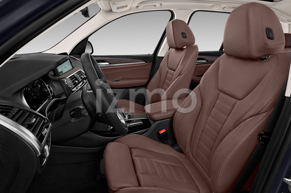 Front seat view of 2018 BMW X3 xLine-4wd 5 Door SUV Front Seat  car photos