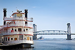 Riverboat at Wilmington, NC, USA