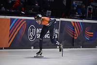 SPEEDSKATING: DORDRECHT: 07-03-2021, ISU World Short Track Speedskating Championships, 3000m Superfinal Men, Dylan Hoogerwerf (NED), ©photo Martin de Jong