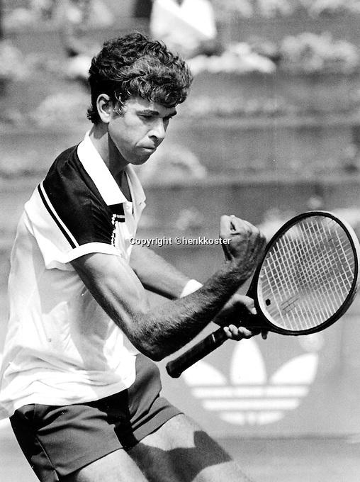 Tennis, Aug, 1984, NK, Michiel Schapers (NED)