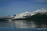 Halo Glacier and Halo Bay, Katmai National Park, Alaskan Peninsula, Alaska