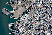 historical aerial photo map of South Beach, San Francisco, California, 2007.  For more recent aerial photo maps of South Beach or any other part of San Francisco, please contact Aerial Archives.