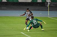 Rio de Janeiro (RJ), 01/08/2020 - Botafogo-Fluminense - Rhuan, do Botafogo. Partida amistosa entre Botafogo e Fluminense, realizada no Estádio Nilton Santos (Engenhão), na zona norte do Rio de Janeiro,  neste sábado (01).