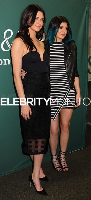 """NEW YORK CITY, NY, USA - JUNE 04: Kendall and Kylie Jenner Sign Copies Of Their Book """"Rebels: City Of Indra : The Story of Lex And Livia"""" at the Barnes & Noble Union Square on June 4, 2014 in New York City, New York, United States. (Photo by Celebrity Monitor)"""