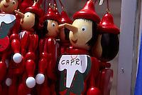 Souvenir-Verkauf auf Capri, Italien