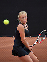 07-08-13, Netherlands, Rotterdam,  TV Victoria, Tennis, NJK 2013, National Junior Tennis Championships 2013, Lexie Stevens<br /> <br /> <br /> Photo: Henk Koster