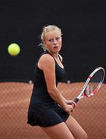 07-08-13, Netherlands, Rotterdam,  TV Victoria, Tennis, NJK 2013, National Junior Tennis Championships 2013, Lexie Stevens<br /> <br /> <br /> Photo: Henk Koster