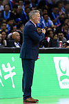 Philadelphia 76ers Head Coach Brett Brown during the NBA China Games 2018 match between Dallas Mavericks and Philadelphia 76ers at Universiade Center on October 08 2018 in Shenzhen, China. Photo by Marcio Rodrigo Machado / Power Sport Images