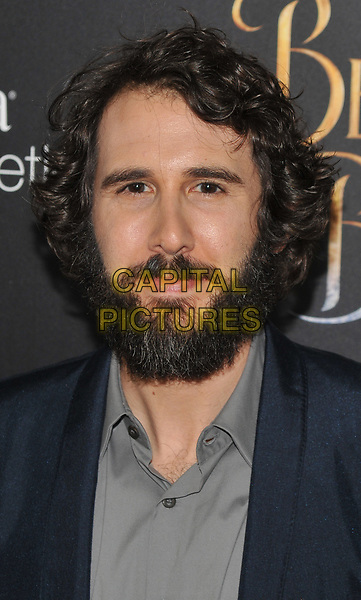 NEW YORK, NY - March 13 : Josh Groban attends the 'Beauty And The Beast' New York screening at Alice Tully Hall, Lincoln Center on March 13, 2017 in New York City.<br /> CAP/MPI/JP<br /> ©JP/MPI/Capital Pictures