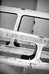 Restoration of the C Class Catamaran Patient Lady VI under the conduct of Benjamin Muyl, Herve Penformis, Axel de Beaufort and Sam Thomas at the Ecole Nationale de Voile, Saint Pierre Quiberon, Brittany, France.