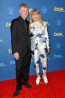 LOS ANGELES, USA. January 25, 2020: Catherine Hardwicke & Guest at the 72nd Annual Directors Guild Awards at the Ritz-Carlton Hotel.<br /> Picture: Paul Smith/Featureflash