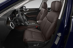 Front seat view of a 2020 Audi A6 allroad quattro Base 5 Door Wagon front seat car photos