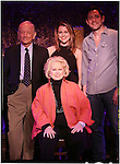 Jonathan Tunick, Rebecca Faulkenberry, Barbara Cook & Steve Kazee attending a Press Preview at the 54 Below in New York City on 4/23/2013.