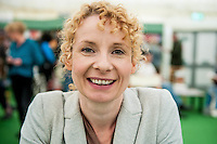 Hay on Wye, UK. Wednesday 01 June 2016<br /> Pictured:  Bee Wilson <br /> Re: The 2016 Hay festival take place at Hay on Wye, Powys, Wales