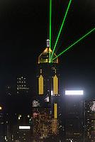 Blick von Kowloon auf  Hongkong, China<br /> View from Kowloon,  Hongkong, China