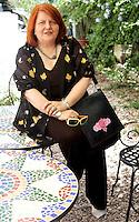 La  direttrice dell'Istituto Cervantes di Roma Fanny Rubio Gamez, ritratta a Roma, 19 giugno 2008..Rome's Cervantes Institute director Fanny Rubio Gamez portrayed in Rome, 19 June 2008..UPDATE IMAGES PRESS/Riccardo De Luca