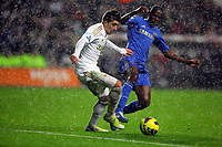 Saturday, 03 November 2012<br /> Pictured L-R: Pablo Hernandez of Swansea against Ramires of Chelsea<br /> Re: Barclays Premier League, Swansea City FC v Chelsea at the Liberty Stadium, south Wales.