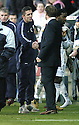 03/02/2007       Copyright Pic: James Stewart.File Name : sct_jspa19_falkirk_v_st_johnstone.OWEN COYLE AND JOHN HUGHES AT THE END OF THE GAME.....James Stewart Photo Agency 19 Carronlea Drive, Falkirk. FK2 8DN      Vat Reg No. 607 6932 25.Office     : +44 (0)1324 570906     .Mobile   : +44 (0)7721 416997.Fax         : +44 (0)1324 570906.E-mail  :  jim@jspa.co.uk.If you require further information then contact Jim Stewart on any of the numbers above.........