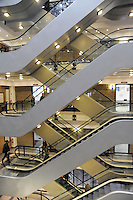 - Milan, the building of IULM, Free University of Language and Communication<br /> <br /> - Milano, l'edificio dello IULM, Libera Universita' di Lingue e Comunicazione