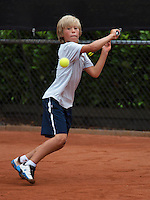07-08-13, Netherlands, Rotterdam,  TV Victoria, Tennis, NJK 2013, National Junior Tennis Championships 2013, Ole Bredschneijder<br /> <br /> <br /> Photo: Henk Koster