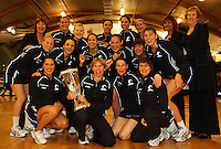 081018 International Netball - NZ Silver Ferns v England