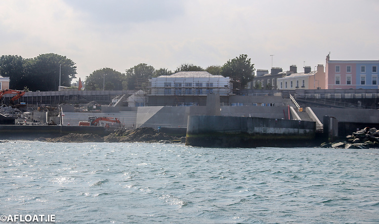 Despite delays, there is significant progress on the refurbishment of Dun Laoghaire Baths