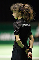 Rotterdam, The Netherlands, Februari 10, 2016,  ABNAMROWTT, Ball-Girl<br /> Photo: Tennisimages/Henk Koster